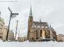 Plzeň pod sněhem